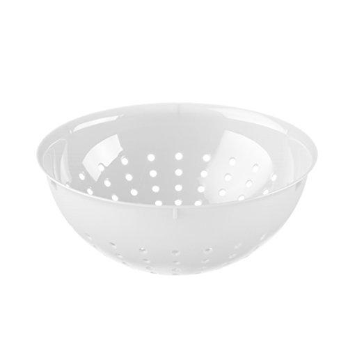 koziol Seihe Palsby M, Kunststoff, weiß, 21 x 21 x 7.8 cm