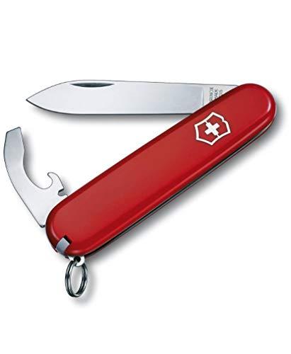 Victorinox Taschenmesser Bantam (8 Funktionen, Kombi-Klinge, Grosse Klinge) rot