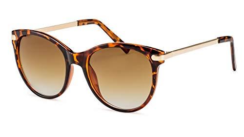 Filtral Cateye Damen-Sonnenbrille/Vintage-Sonnenbrille mit Verlaufsgläsern F3021109