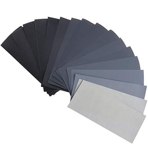 OTOTEC 102 Grit Nat Droog Schuurpapier 60-3000 Schuurpapier Schuurpapier Poolse Papieren Vellen Assortiment voor Hout Metaal Polijsten Auto Verf Lichaam Aut Verf