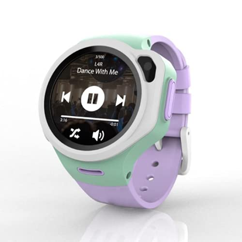 WatchOut Wearables Next-Gen Kids Smartwatch with 4G Video Call, Music, Games, Anti-Theft and Parental Control (Lavender Purple), Fits All
