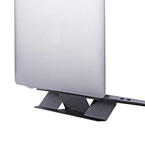 MOFT MINIノートパソコンスタンド 軽量ノートパソコンスタンド MacBook/Air/Pro タブレット ノートパソコン対応 最大15.6インチ 特許取得済み (グレー)