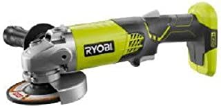 Ryobi ZRP421 ONE Plus 18V Cordless Lithium-Ion 4-1/2 in. Angle Grinder (Bare Tool) (Renewed)
