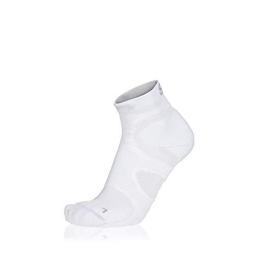 EIGHT SOX Tennis Short Chaussettes Mixte, weiß, 42-44 cm
