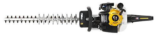 Mcculloch HT 5622 Petrol Hedge Trimmer: 22 cc, 56 cm Cutting Blade, 22 mm Blade Gap, Dual Action Blades, Soft Start, Handle Anti-Vibration System, Easy Starting