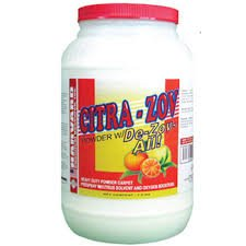 CITRA-ZOV with/De-Zov-All, powdered pre-spray, fortified with De-Zov-All, (case of 4, 7.5 lb jars)