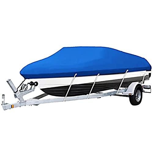 Guardapolvo Funda De Lancha, Cubierta De Barco Impermeable A Prueba De Polvo Anti-UV Fundas para Barco para Barco/Bote Funda De Lancha Motora Proteccion Solar (Color : C, Size : 20-22ft)