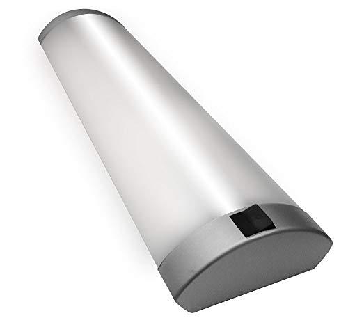 LED Halbrohr-Form Unterbauleuchte Eckleuchte Lichtleiste Spiegelleuchte Küchenleuchte Schrankleuchte 23 Watt 85cm 4000K nicht Schwenkbar Lichtband nicht möglich