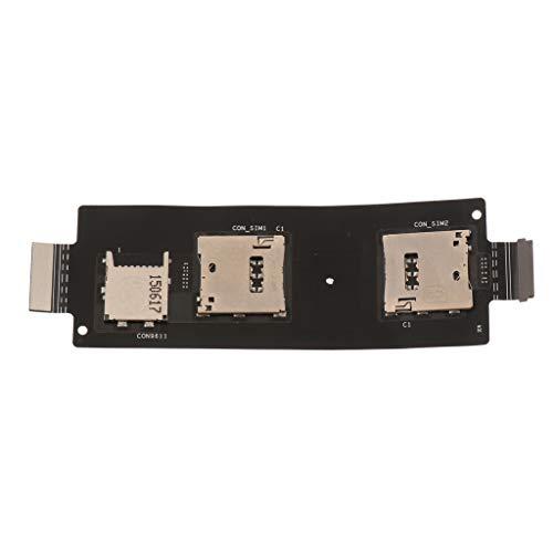 IPOTCH Soporte de Tarjeta SIM Dual, Lector de Ranura, Cable Flexible para ASUS Zenfone2 ZE550ML / 551ML