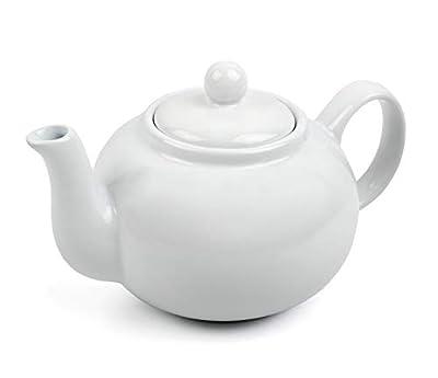 RSVP Chai 16-ounce Teapot (White)