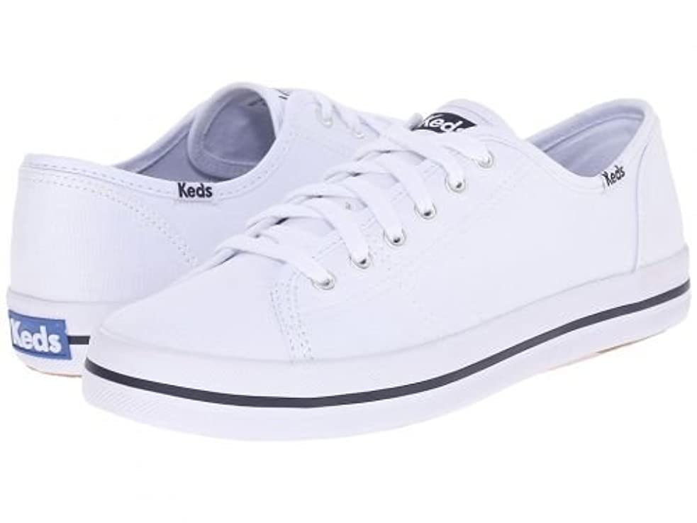 決定する通り抜けるアニメーションKeds(ケッズ) レディース 女性用 シューズ 靴 スニーカー 運動靴 Kickstart - White [並行輸入品]