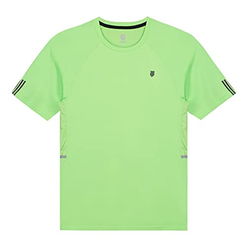 Camiseta Kswiss Hypercourt Crew 2 Verde