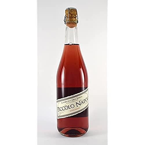 Bodegas López Morenas Piccolo Napoli Vino Lambrusco Vino Rosado - 6 Paquetes de 750 ml - Total: 4500 ml