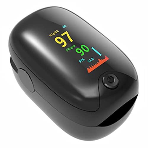 BMDHA Pulsioximetro, Una Medida Clave Oximetro Encendido/Apagado AutomáTico, Oximetro Dedo SaturacióN De OxíGeno En Sangre (Spo2) Y Monitor De Pulso Cardiaco