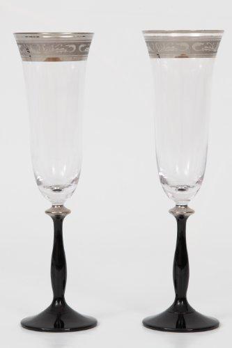 Bohemia Cristal Copa de Cava, champán de Copas, Copas de champán ángela...