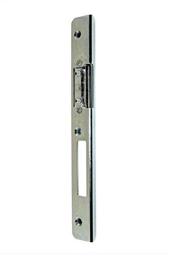 GU BKS Secury Sicherheits Haustür Schließblech 250x28x9x3mm mit AT-Stück verstellbar DIN Links