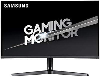 "Samsung LC32JG52QQUXEN 32"" Curved Gaming Monitor - WQHD 2560x1440, 144Hz, 2x HDMI, DisplayPort, Dark Silver"