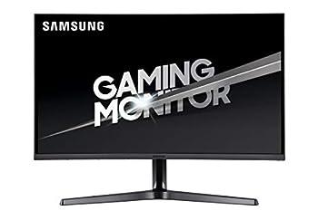 Samsung 32-Inch CJG56 144Hz Curved Gaming Monitor  LC32JG56QQNXZA  – WQHD Computer Monitor 2560 x 1440p Resolution 4ms Response Game Mode HDMI AMD FreeSync Black
