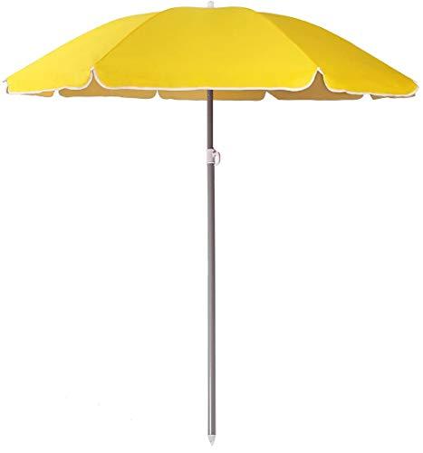 ombrellone da spiaggia salvaspazio Arcoiris Ombrellone pieghevole 220 cm