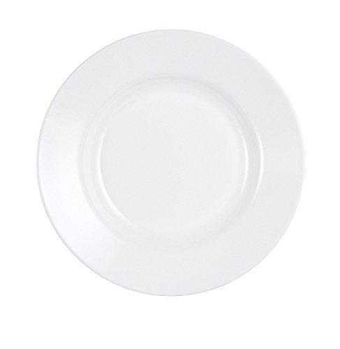 Luminarc Every Day Lot de 6 assiettes en verre opale Blanc Piatto fondo 22cm