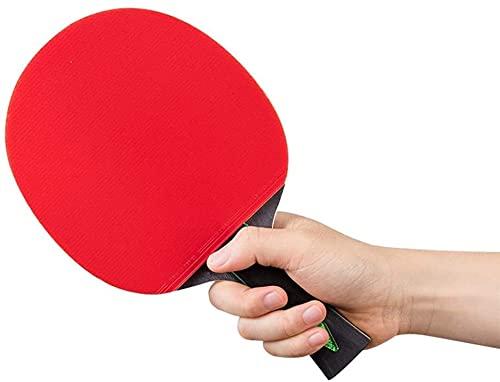 Pala de Ping Pong MAYO DE PENIS DE MESA CON TECNOLOGÍA DE FIBRA DE CARBONO PARA MAYOR CONTROL, SPIN & POWER RENDIMIENTO-LEVANTE PONG PING PONG BAT PARA TRIPANTIDOS, AMATENTUROS, Experto ZS