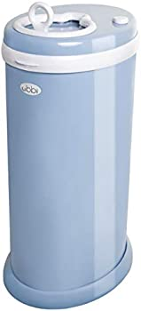 Ubbi Steel No Special Bag Required Must-Have Diaper Pail Odor Locking