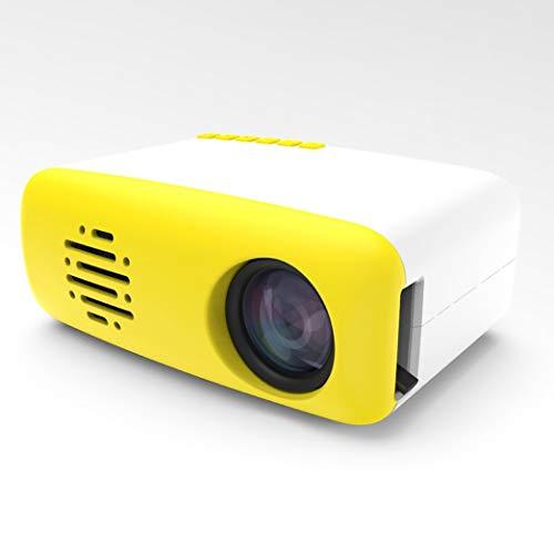 LCD mobiele telefoon HDMI zelfde scherm interface projectie HD projector av TV interface afstandsbediening micro klein mini - EU Plug