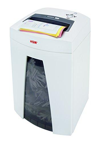 HSM Securio C18 Paper Shredder 3,9mm Weiß