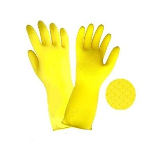M-Glove 12 Paar Schutzhandschuhe aus Nylon mit Polyurethan Beschichtung Handschuhe ®Auto-schmuck (Gummihandschuhe 10/XL)