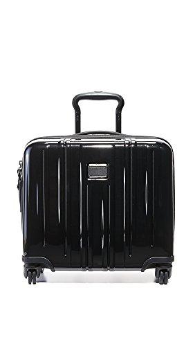 Tumi Women's Tumi V3 Carry On Suitcase, Black, One Size