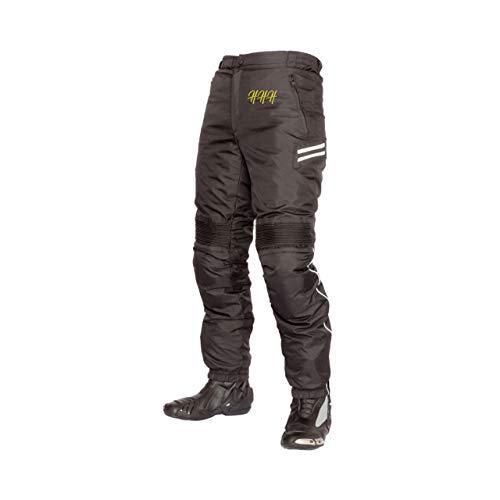 HHH SPORTS WEARS Pantalone in Tessuto da Moto Uomo Con Protezioni Waterproof in Poliestere (3XL)