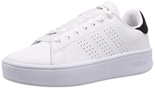 adidas Advantage Bold, Scarpe da Tennis Donna, Ftwr White/Ftwr White/Core Black, 41 1/3 EU