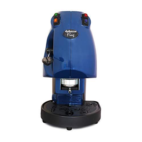Diesse Frog - Máquina de café en monodosis de papel ESE de 44mm, color azul