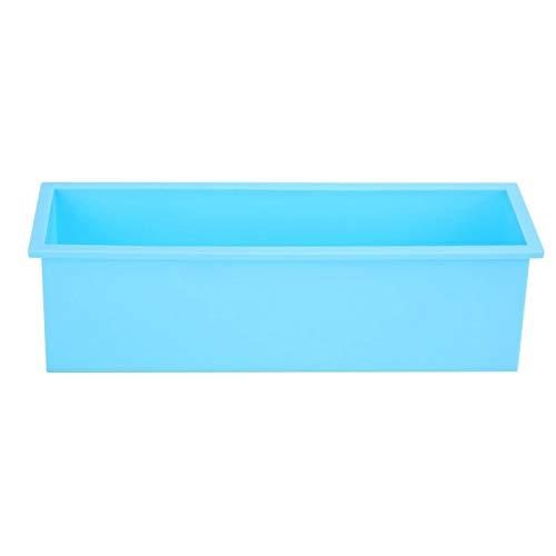 Molde de jabón rectangular para molde de chocolate para tienda de postres(Sky blue)