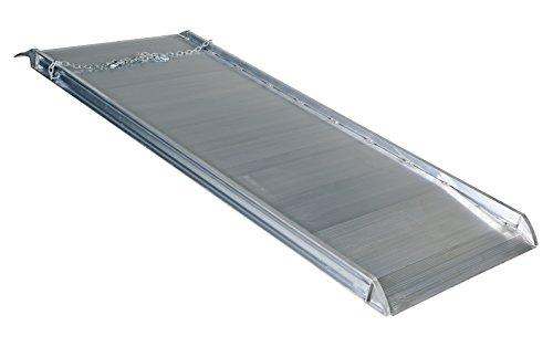 "Vestil AWR-38-8A Aluminum Walk Ramp Overlap Style, 2500 lb, 96"" Length, 38"" Width, 4.75"" Height"