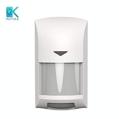 KAIPULE Wall-Mounted Z-Wave Plus PIR Motion Sensor,Comaptible with SmartThings,HomeSeer,Vera and Fibaro,White