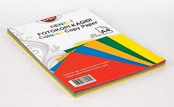 Noki 89104 Renkli fotokopi Kağıdı, 5 Renk, 100 yp.