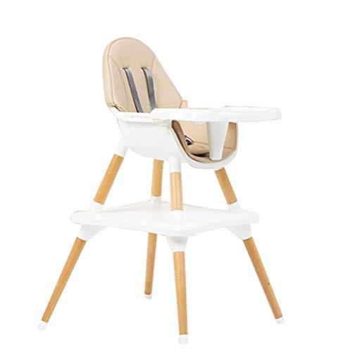 Sedia evolutiva bambini,sediolone pappa bimbi Seggiolone per neonati e bambini piccoli - con vassoio rimovibile, sedia da pranzo facile da montare per dai 6 mesi ai 4 anni(yellow)