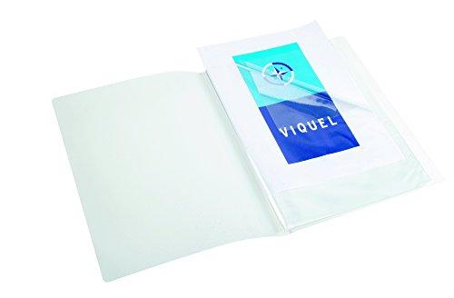 Viquel 544040-04 Reliure 40 vues en Propyglass A3 Transparent