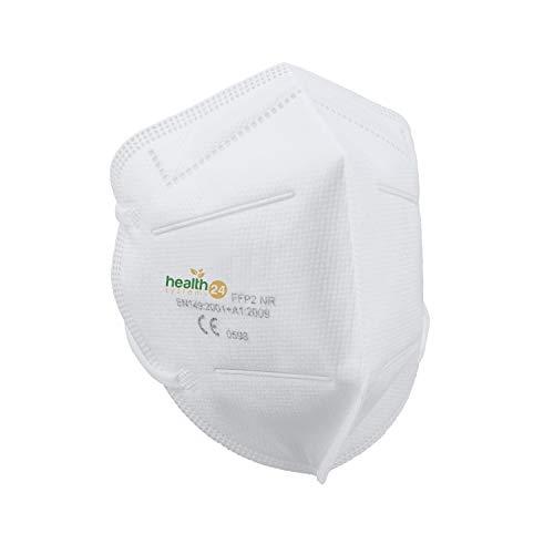 FFP2 Atemschutzmaske 20 Stück Packung einzeln Verpackt CE-Zertifizierte Atem Maske DEVELLE Schutzmaske für alle Bereiche - 6