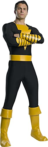 Charades Men's DC Comics Shazam's Black Adam Costume, As...