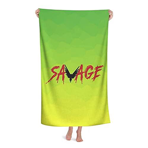 XBBAO - Toalla de natación de secado rápido Logan Paul Logang Seguidores Loro suave absorbente y ligera para gimnasio y baño