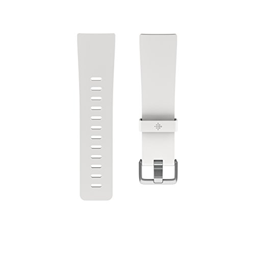 Fitbit Versa Family Accessory Band, Official Fitbit Product, Classic, White, Small