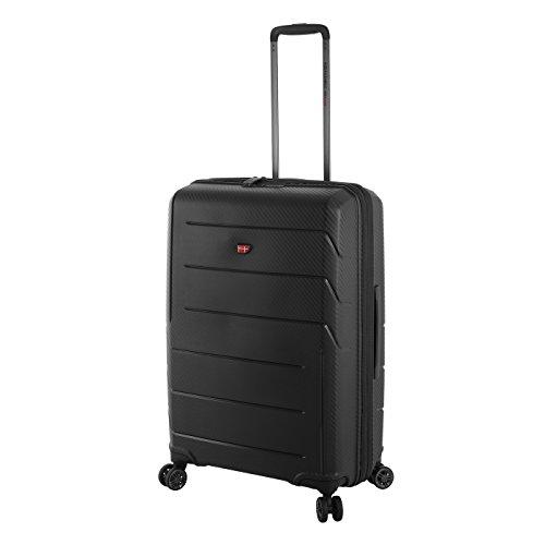 Von Cronshagen Matteo 65cm - Hartschalen Trolley mit 4 360° Rollen, Reisekoffer mit TSA-Schloss für USA, robuster Koffer mit 2 Stufen Teleskopgestänge (85 Liter Volumen)