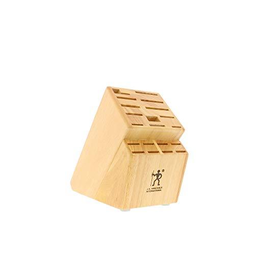 HENCKELS Forged Premio Knife Block Set, 17 Piece, Black