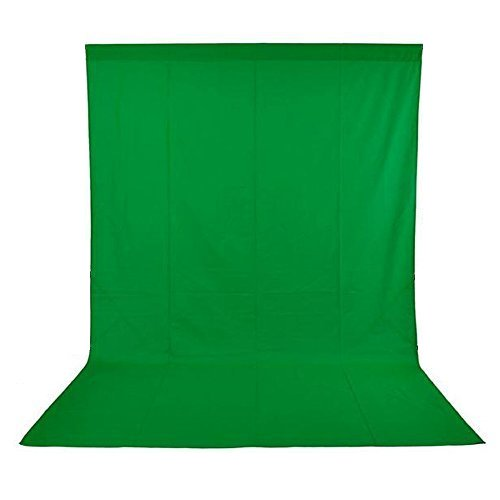 Andoer 1.6 x 3M / 5 x 10FT Photography Studio Non-Woven Green Backdrop/Background Screen