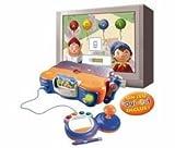 VTECH Console V.Smile Oui-Oui + VSMILE MANETTE BLEUE AVEC STYLET