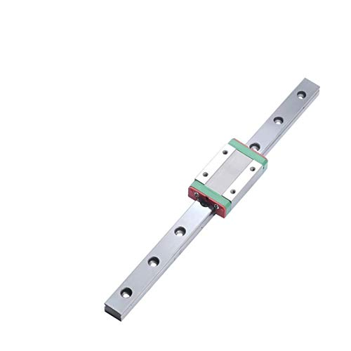 Without brand WNN-Tool, MGN9 MGN7 MGN12 MGN15 Miniature Rail de Guidage linéaire Faites Glisser 100-1000mm 2PCS MGN12 Guide linéaire + 2PCS MGN12H / MGN12C Transport CNC imprimante 3D