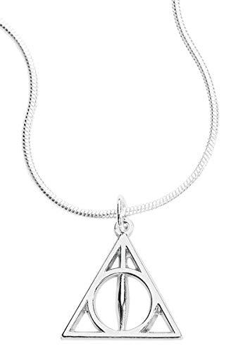 Carat Shop - DONE Harry Potter Heiligtümer des Todes Frauen Halskette Standard Zinklegierung Fan-Merch, Film