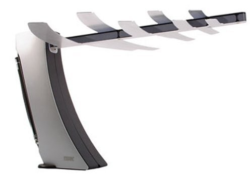 Terk 60 Mile Range High Performance Amplified Indoor HDTV Antenna - Supports UHF, VHF 1080 HDTV Broadcasts for Free